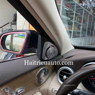 Loa treble xoay 3D Burmester theo xe Mercedes C250