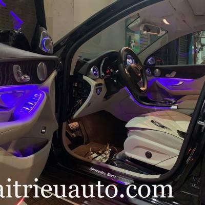Nâng cấp led 64 mầu cho xe Mercedes C Class