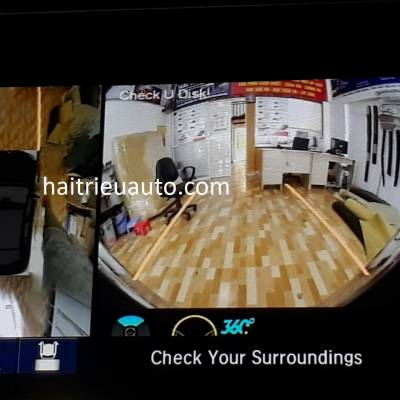 lắp camera 360 cho xe honda CRV 2018