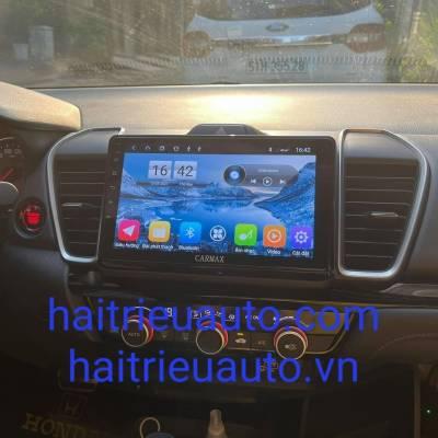 màn hình android theo xe honda city 2021