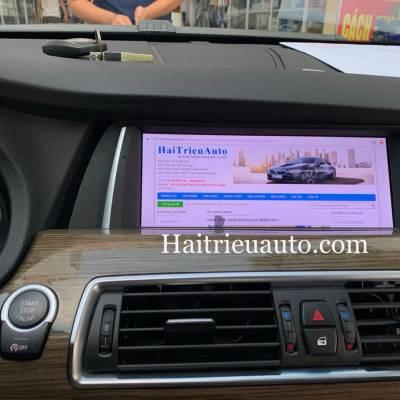Màn hình android theo xe BMW 528i GT