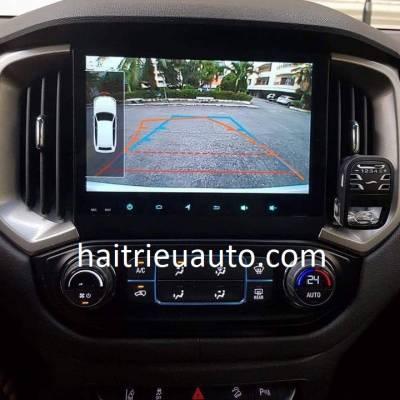 màn hình android theo xe colorado 2018