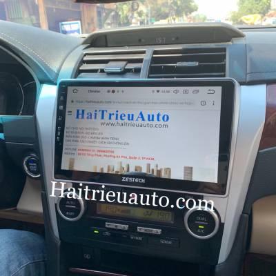 màn hình android zestech theo xe camry