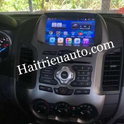 màn hình android Zulex theo xe Ford Ranger