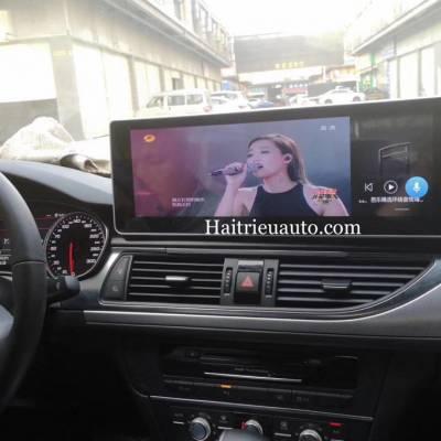 Màn hình android cho xe Audi A7