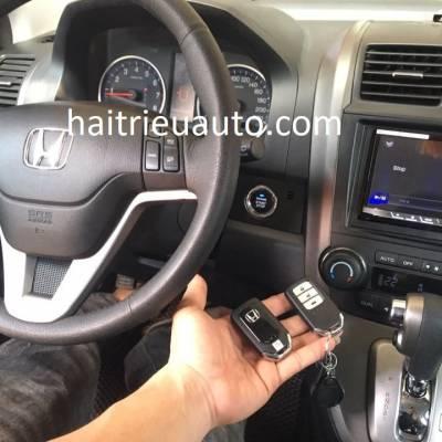 lắp bộ chìa khóa thông minh xe honda CRV