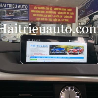 màn hình android xe lexus RX 300