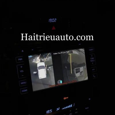 lắp camera 360 oview cho xe fortuner 2018