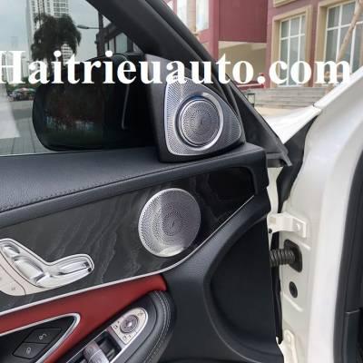 Loa treble xoay 3D Burmester cho xe Mercedes C300