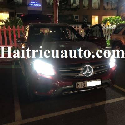logo có đèn led cho Mercedes GLC 250