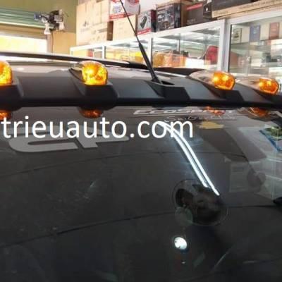 bộ đèn lắp thêm cho xe Pajero sport 2018