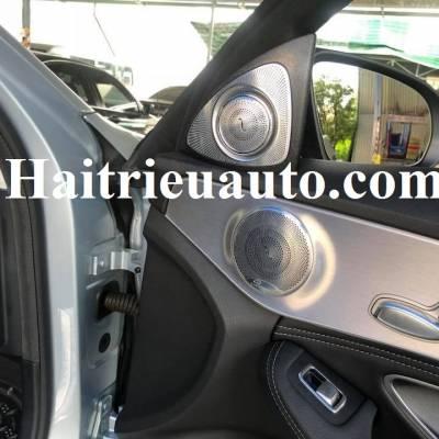 Loa treble xoay 3D Burmester cho xe Mercedes C200