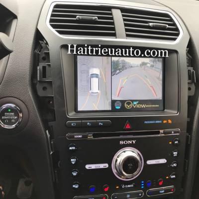 camera 360 cho xe Ford Explore
