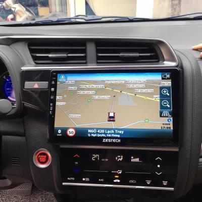 màn hình android zestech theo xe honda civic
