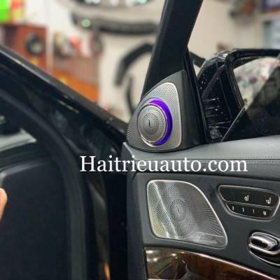 Loa treble xoay 3D Burmester cho xe Mercedes S450
