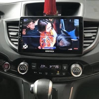 màn hình android zestech theo xe honda CRV 2015
