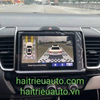 lắp camera 360 theo xe honda city 2021
