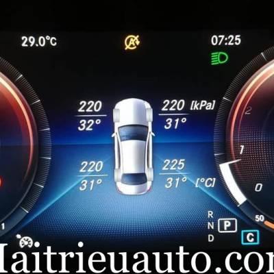 Cảm biến áp suất lốp theo xe mercedes C Class