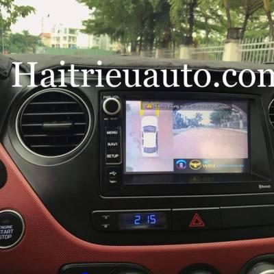 lắp camera 360 cho xe Hyundai I10