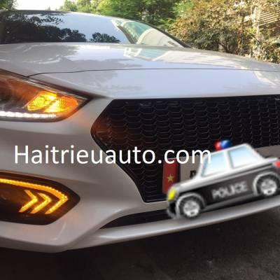 đèn led gầm theo xe Hyundai Accent