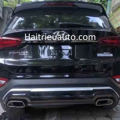 ốp cản sau mẫu 2 xe Hyundai Santafe