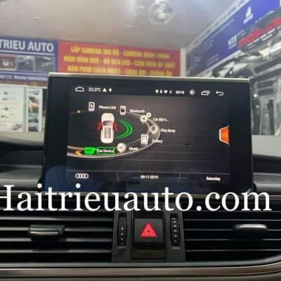màn hình android xe audi A7