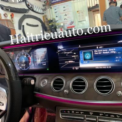 Nâng cấp màn hình E300 cho Mercedes E200 và E250