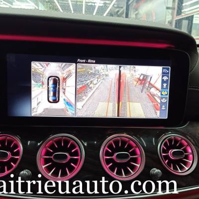 Camera 360 theo xe mercedes E250