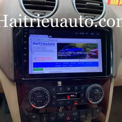 Màn hình android theo xe Mercedes GL 550