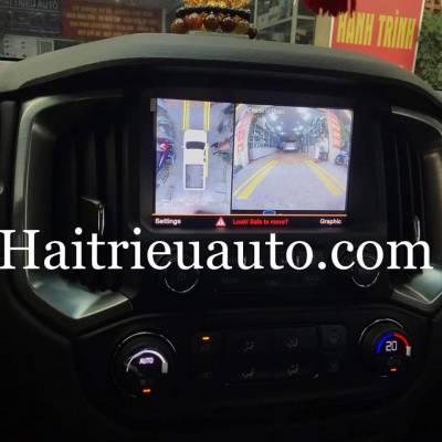 lắp camera 360 cho xe colorado 2019