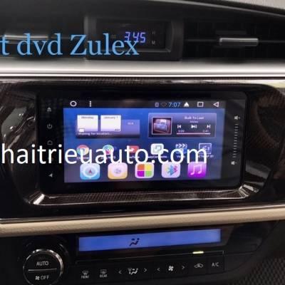 màn hình android ZULEX theo xe altis
