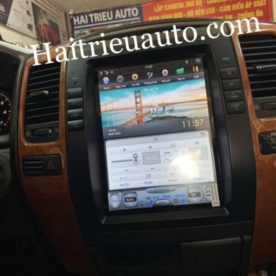 màn hình android tesla xe lexus GX 470