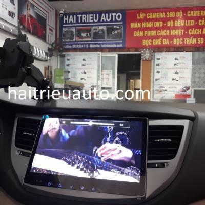 màn hình android theo xe tucson 2018