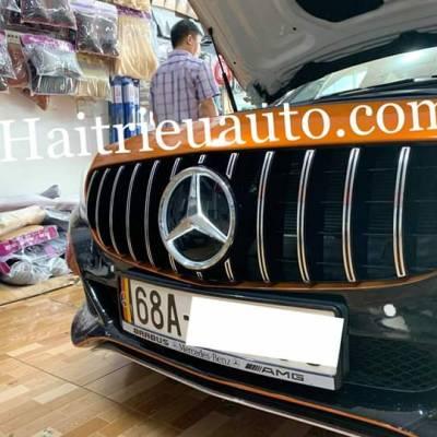 Mặt ca lăng độ mẫu GT xe Mercedes C