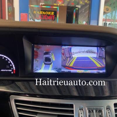 Camera 360 cho xe Mercedes S63