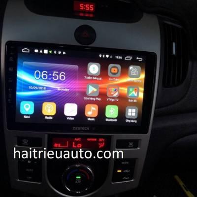 màn hình android zestech theo xe forte