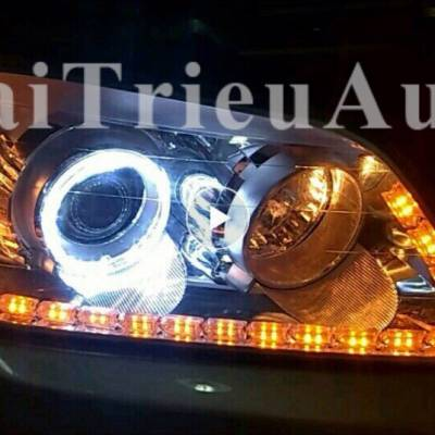 Đèn led độ cho xe CAPTIVA 2010