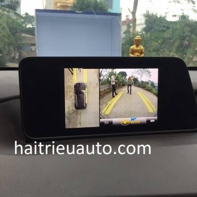 lắp camera 360 cho xe lexus RX 300