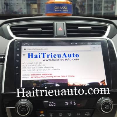 màn hình android theo xe honda CR-V 2019