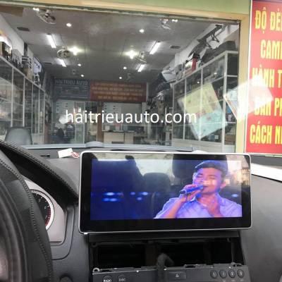 màn hình android theo xe mercedes C300