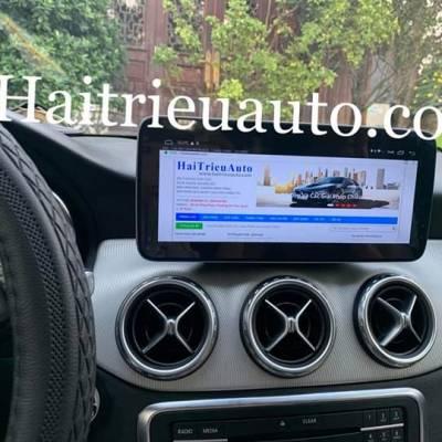 Màn hình android theo xe Mercedes CLA 200