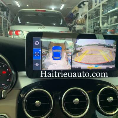 Camera 360 theo xe Mercedes C