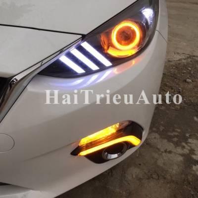 Đèn pha mẫu MUTAN cho xe mazda 3
