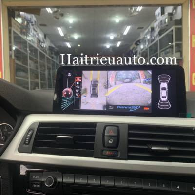 lắp camera 360 panorama cho xe BMW