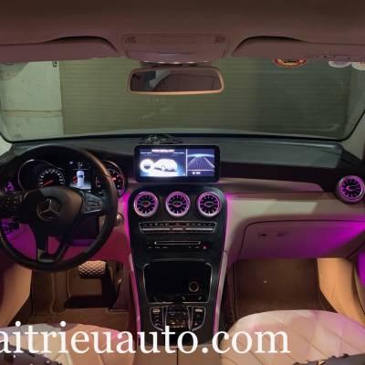 Cửa gió Turbine đèn LED theo xe Mercedes GLC
