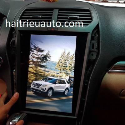 màn hình tesla cho xe Ford Explorer
