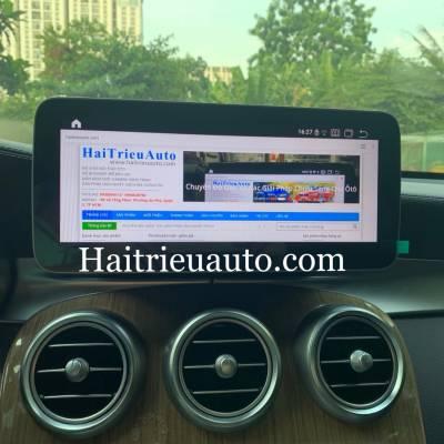 Màn hình android theo xe Mercedes GLC 250