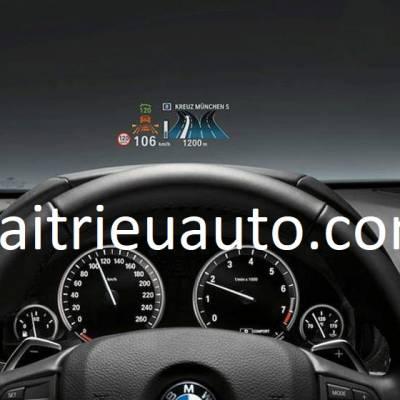 bộ hiện thị HUD theo xe BMW
