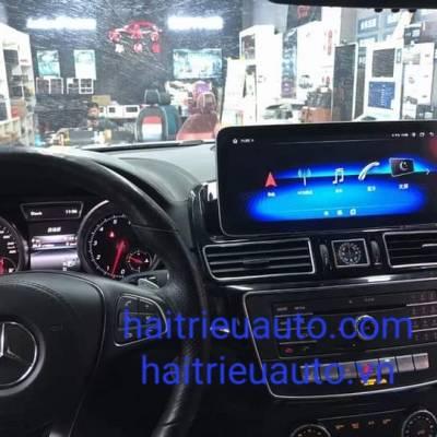 màn hình android theo xe mercedes GLE