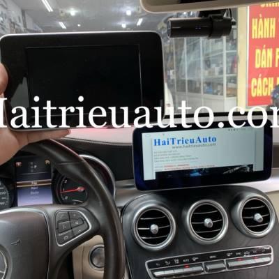 Màn hình android theo xe Mercedes GLC 200